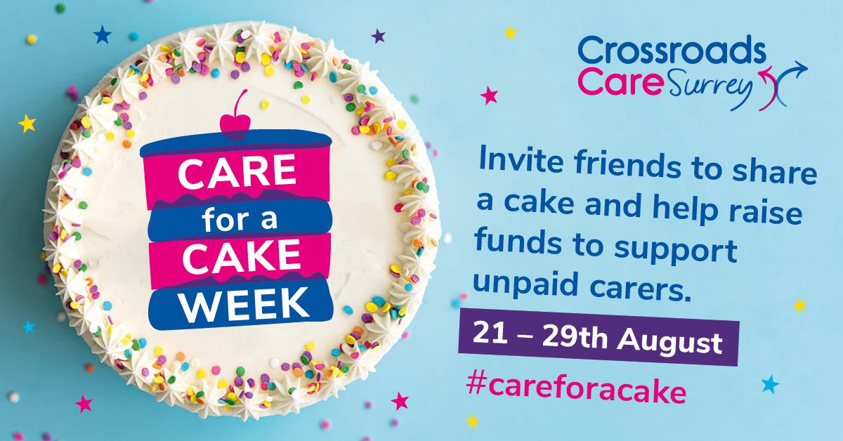 Crossroads Care Surrey_Care for a Cake